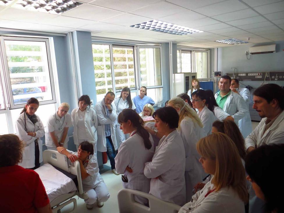 Training on ER equipment