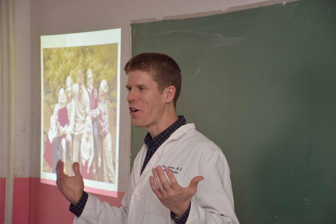 Training medical students