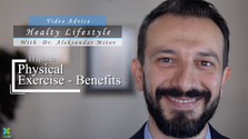 "One of 15 episodes from the first season of ""Healthy Lifestyle"" with Dr. Aleksandar Mitov, describing the benefits of exercise"