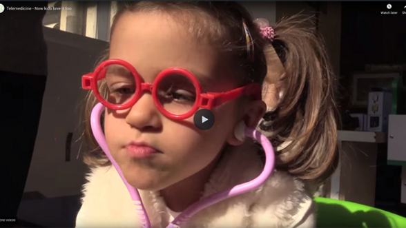 A video promoting awareness for LinkAcross's telemedicine project in the Skopje Children's Hospital