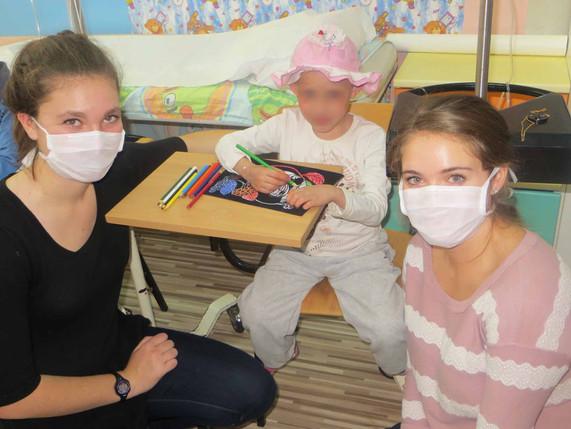 Pediatric Oncology Volunteer Program