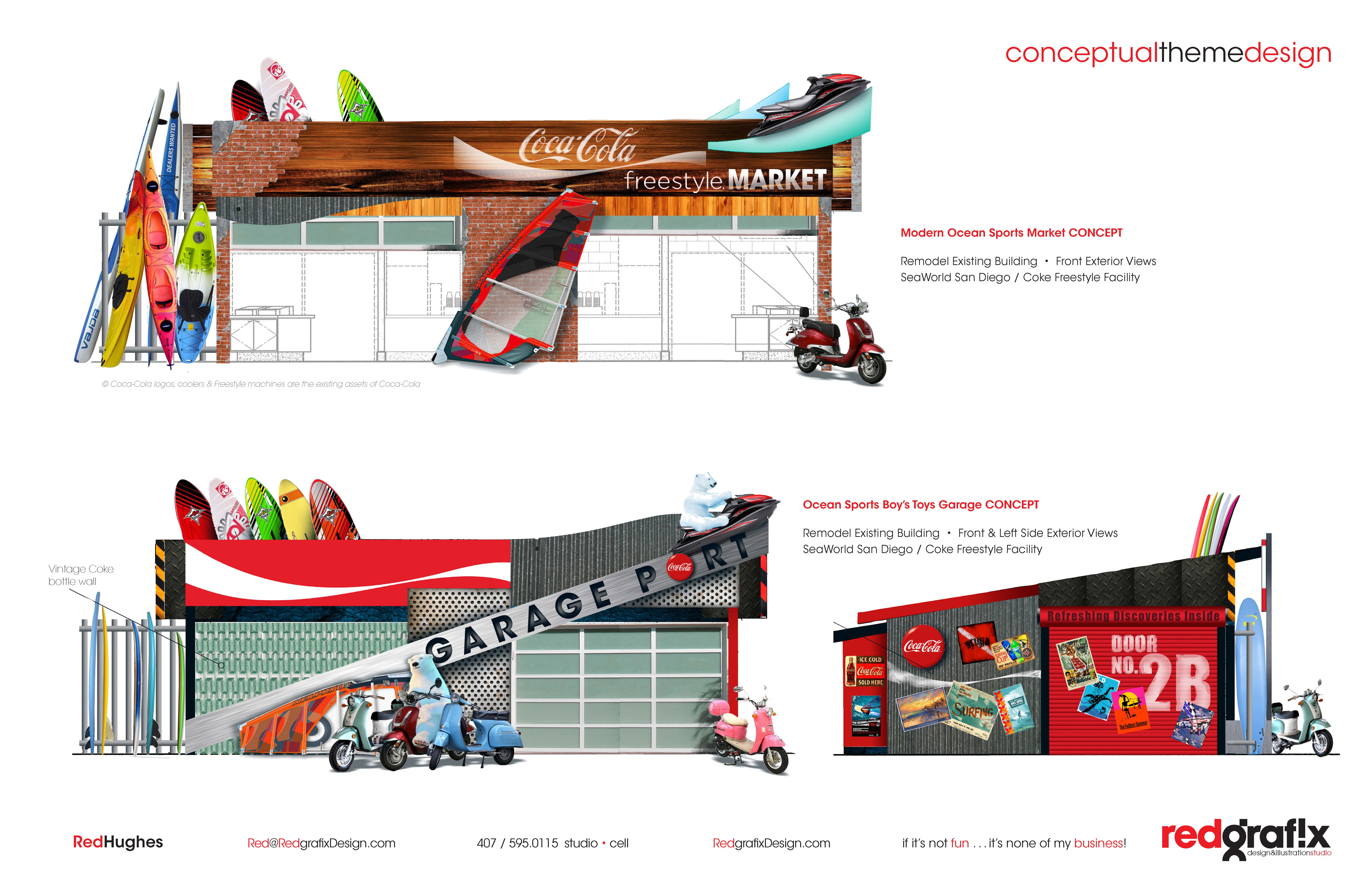 Conceptual Themed Facilities Design