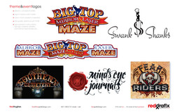 Attraction, Event, Business Logos