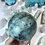 Thumbnail: Large Chrysocolla, Malachite and Azurite in Quartz Sphere