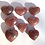Thumbnail: Strawberry Quartz Hearts Red Aventurine