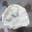Thumbnail: White Quartz and Clear Quartz Geode from Morocco