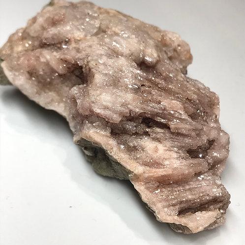 Pink Amethyst Stalactitic formation Druzy Quartz Cluster