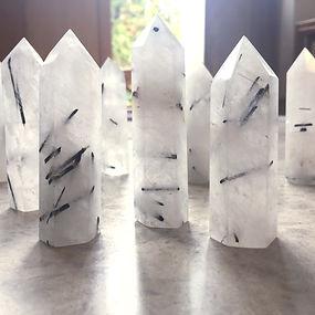 Tourmaline crystal Points