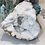 Thumbnail: White Quartz geode with frosty points from Morocco