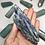 Thumbnail: Long Gemmy Kyanite Cluster from Brazil