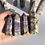 Thumbnail: ZigZag Tiffany Fluorite Points