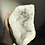 Thumbnail: Thick white Quartz Geode with glossy points