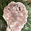 Thumbnail: Large Pink Amethyst slab on a stand polished on both sides