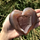 Thumbnail: Red Carnelian Druzy Heart