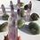 Thumbnail: Clear Amethyst Points