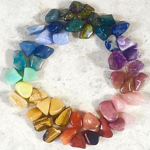 chakra crystals tumblestones crystality
