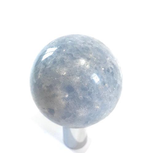 Blue Calcite Sphere 6.2cm