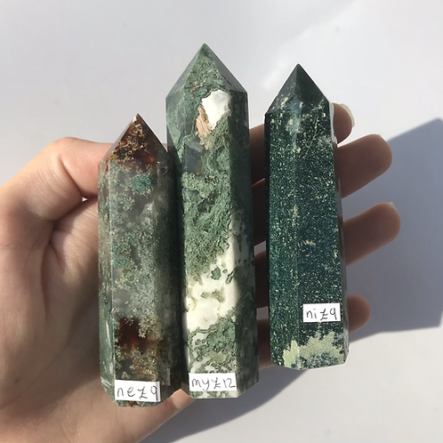 Moss Agate Points
