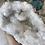 Thumbnail: White Quartz geode with glossy points