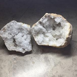 Clear Quartz Geode.JPG