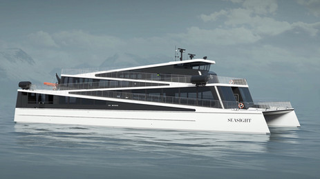 ZEM wins another battery contract for futuristic Norwegian hybrid ferry Seasight