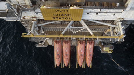 Norsafe and Statoil take Electric Lifeboat for a Ride