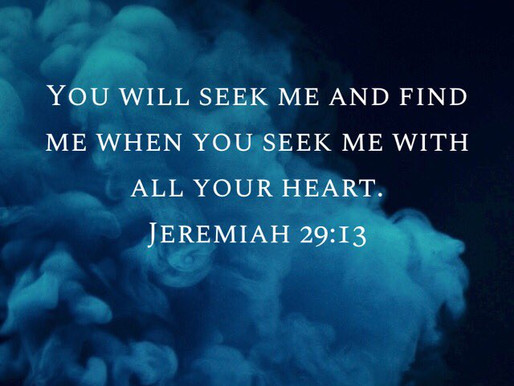 Seek to have God with you in your problems