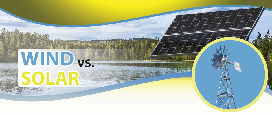 Which is better, Windmill or Solar Powered Aeration?
