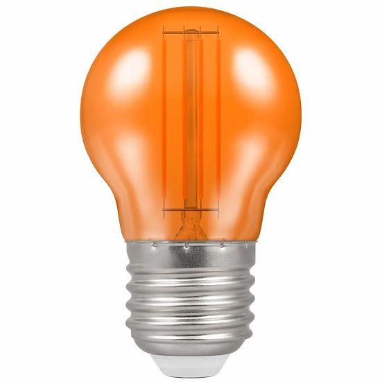 LED Filament Harlequin Round • 4.5W • Orange • ES-E27 13865