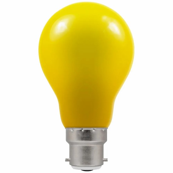LED GLS Coloured • 1.5W • Yellow • BC-B22d 4160