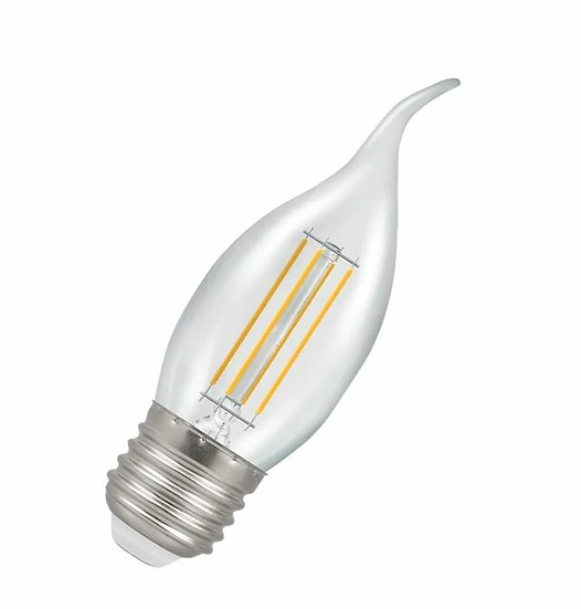 LED Bent-Tip Candle Filament Clear • Dimmable • 5W • 2700K • ES-E27 12158