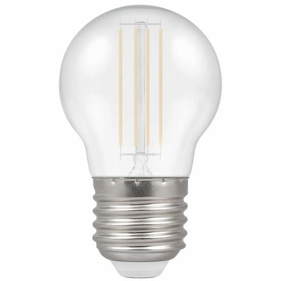 LED Filament Harlequin Round • 4.5W • White • ES-E27 13940
