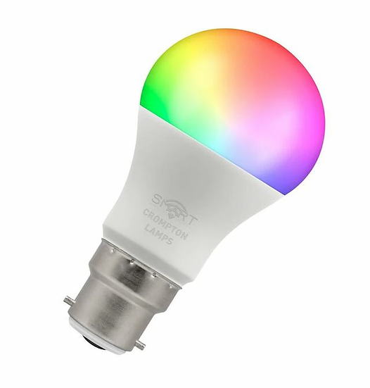 LED Smart GLS Thermal Plastic • Dimmable • 8.5W • RGBW 3000K • BC-B22d 12325