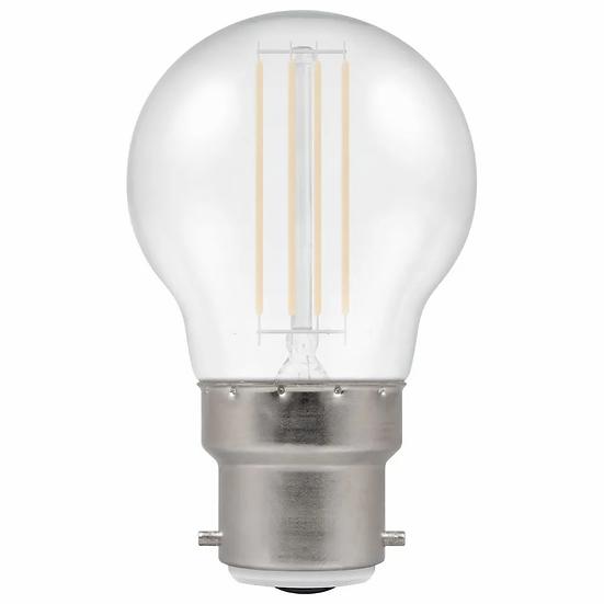 LED Filament Harlequin Round • 4.5W • White • BC-B22d 13933