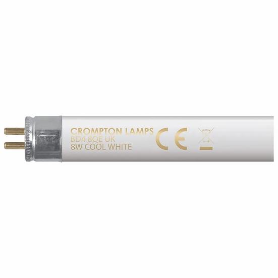 "Fluorescent T5 Halophosphate 12"" • 8W • 4000K • G5"