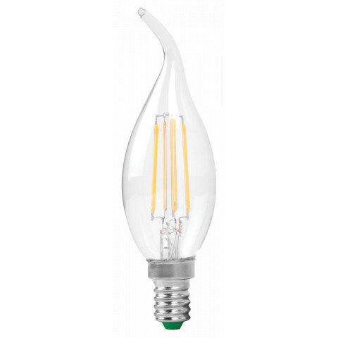 MEGAMAN 4W Flame Tip Filament Candle E14 2700K SKU: 143921