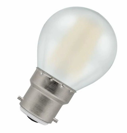 LED Round Filament Pearl • Dimmable • 5W • 2700K • BC-B22d 7253