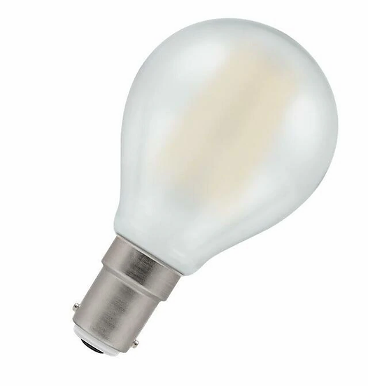LED Round Filament Pearl • Dimmable • 5W • 2700K • SBC-B15d 7260
