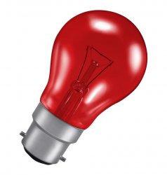 Fireglow GLS • 40W • Red • BC-B22 EVS854