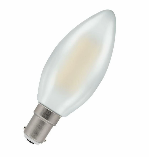 LED Candle Filament Pearl • Dimmable • 5W • 2700K • SBC-B15d 7185