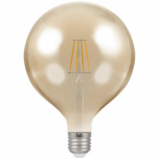 LED Globe G125 Filament Antique • Dimmable • 7.5W • 2200K • ES-E27 4313