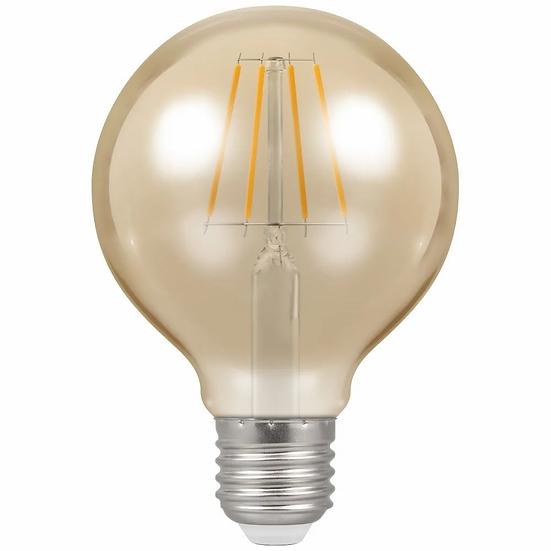 LED Globe G80 Filament Antique • Dimmable • 5W • 2200K • ES-E27 4276