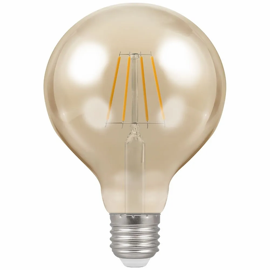 LED Globe G95 Filament Antique • Dimmable • 5W • 2200K • ES-E27 4290