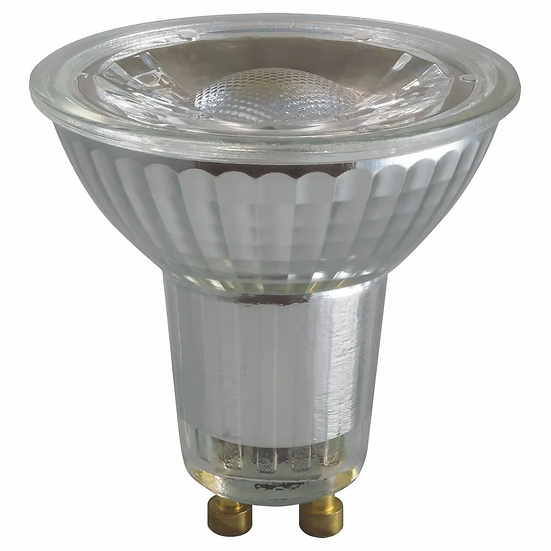 LED GU10 Glass COB • 5W • 2700K • GU10 NON DIM