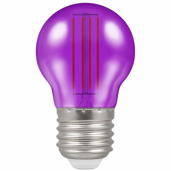 LED Filament Harlequin Round • 4.5W • Purple • ES-E27 13902
