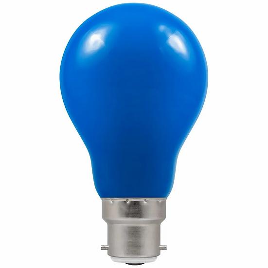 LED GLS Coloured • 1.5W • Blue • BC-B22d 4108