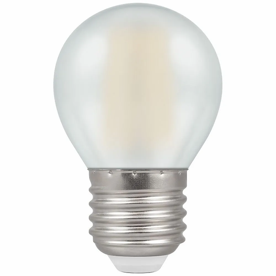 LED Round Filament Pearl • Dimmable • 5W • 2700K • ES-E27 7277