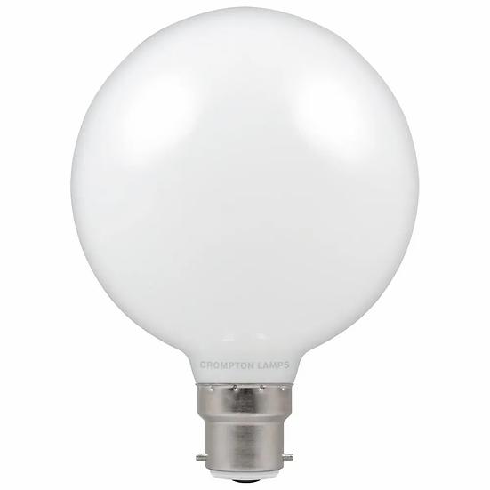 LED Globe G95 Opal Globe • Dimmable • 7W • 2700K • BC-B22d 12660