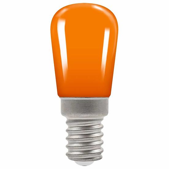 LED Coloured Sign • 1.3W • Amber • SES-E14 9066