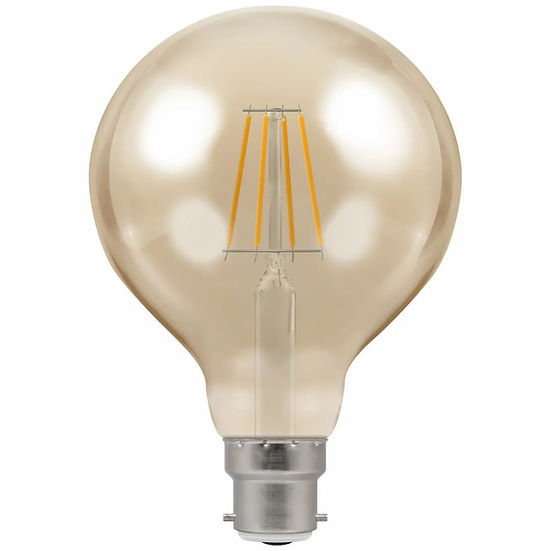 LED Globe G95 Filament Antique • Dimmable • 5W • 2200K • BC-B22d 4283